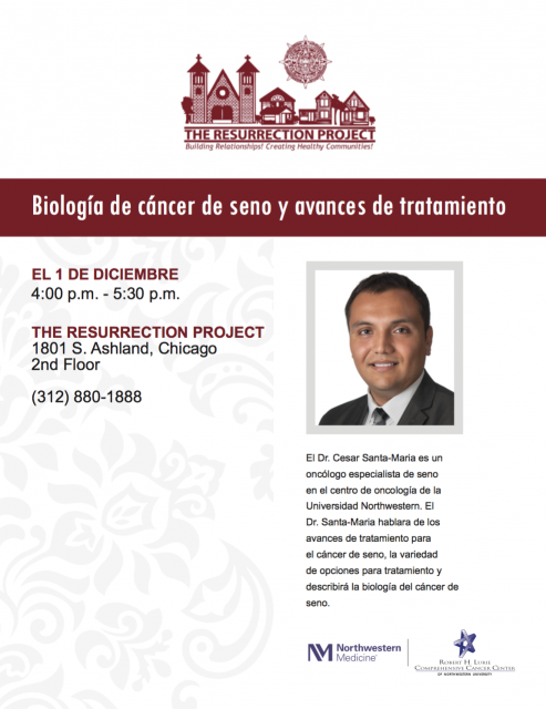Resurrection Project flyer