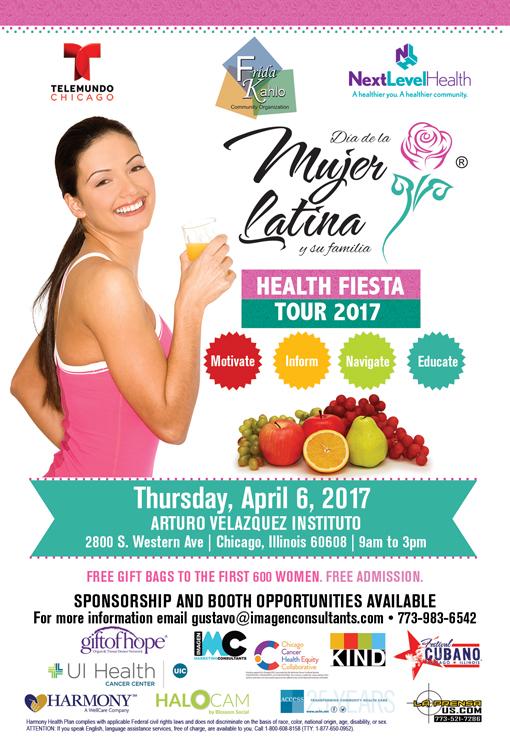 Dia de la Mujer Latina-Health Fiesta   ChicagoCHEC