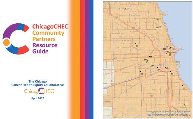 Resource Guide cover and index map