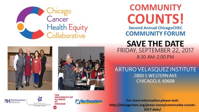 Second Annual ChicagoCHEC Community Forum - flyer